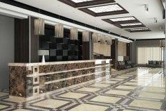 Modern lobby for hotel